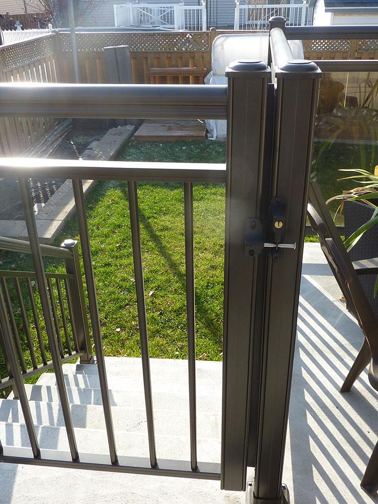 aluminum gates pools
