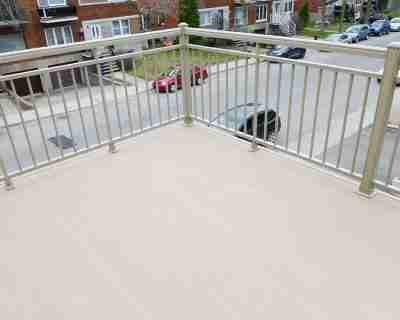 Avantages des terrasses en aluminium
