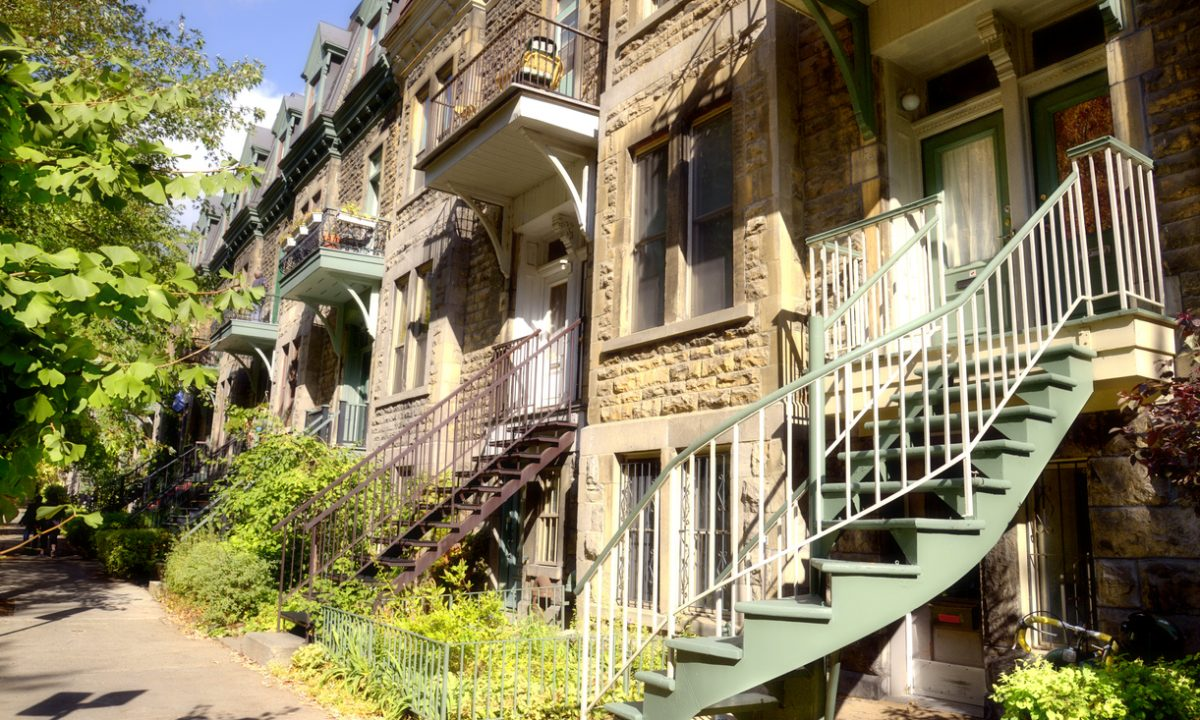 Avantages des escaliers extérieurs