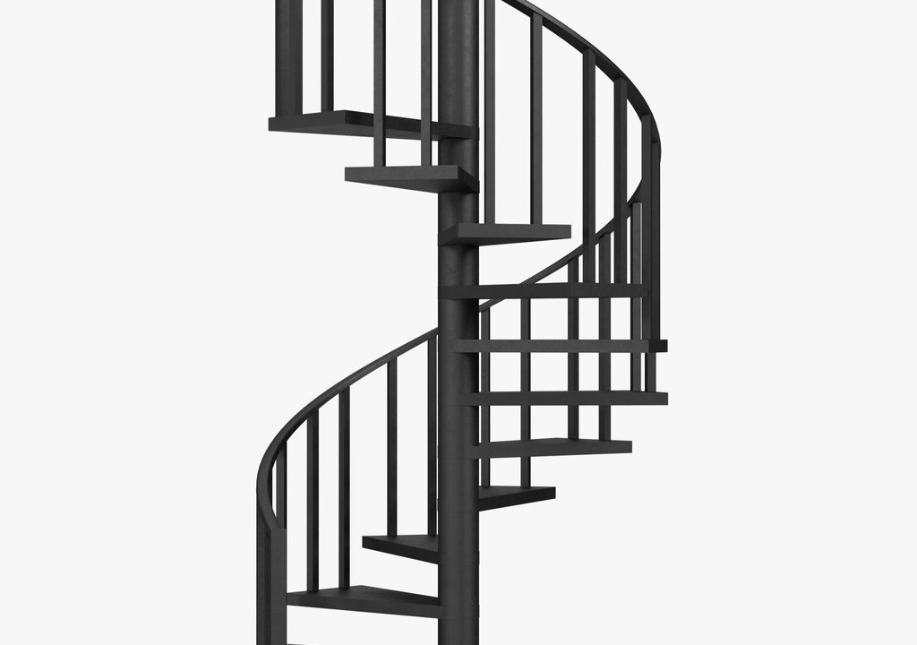 spiral staircase for montreal home